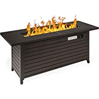 Best Choice Products 57 Inch 50,000 BTU Rectangular Gas Fire Pit Table