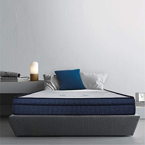Sleepwell Cocoon Two-As-One Customizable Feel Mattress with Free Pillow (72x35x6)