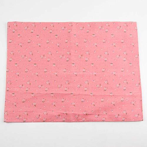 N-B 30 x 40 cm koreanische Tischsets Mode Baumwolle Leinen Tischset Wärmedämmung Matte Esstisch Matte Stoff Servietten 4 Farben