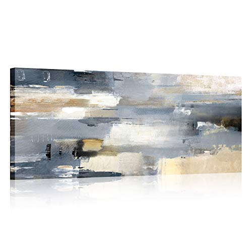Abstracto Marco de madera Cuadros Modernos Lienzo Pintura Cartel HD Impresión de Imagen Foto cuadros decorativos Sala de estar Dormitorio Arte de la pared Decoración Listo para colgar 50x120cm