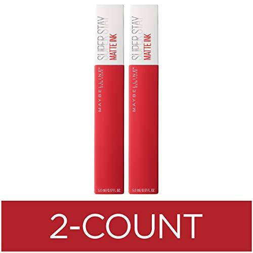 Maybelline SuperStay Matte Ink Liquid Lipstick, Pioneer, Pack of 2