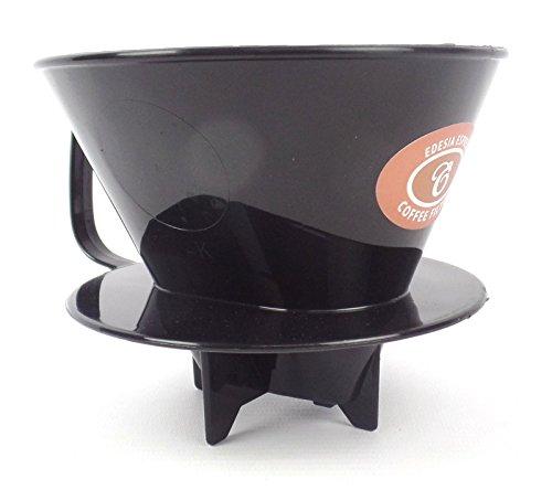 EDESIA ESPRESS - Kaffeefilteraufsatz aus Kunststoff - mit Füßen für sicheren Halt - Größe 4