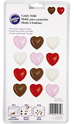 Wilton Hearts Candy Mold