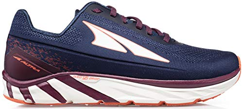 ALTRA Women's Torin 4 Plush Road Running Shoe, Navy/Plum - 8 M US