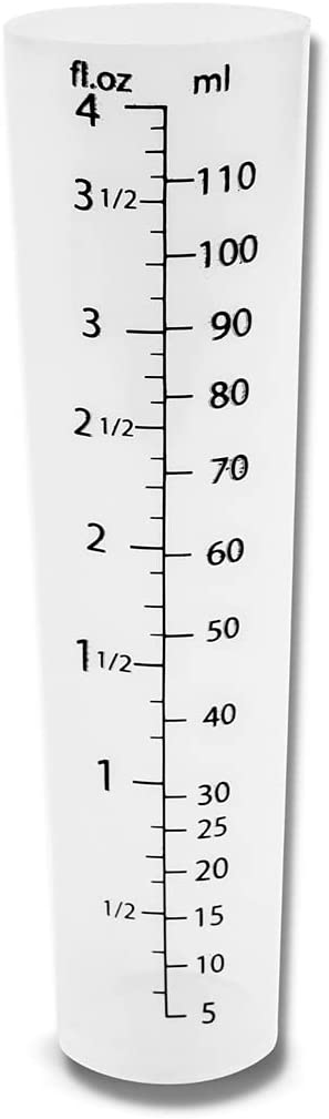 Outlet ☆ Free Shipping 4oz Graduated Cylinder - Plas Clear Our shop most popular Plastic