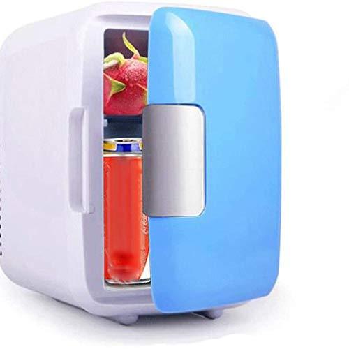 YUXIwang Refrigerador portátil para congelador de coche, 4 litros, refrigerador de coche, refrigerador, calentador universal para vehículos (nombre del color: azul)
