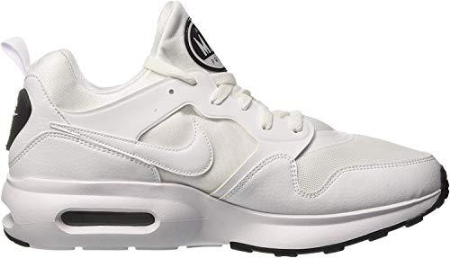 Nike Herren Air Max Prime Gymnastikschuhe - Elfenbein (Whitewhitepure Platinumblac 100) , 40 EU
