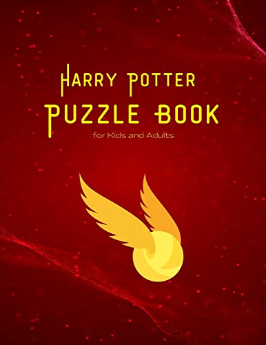 Harry Potter Puzzle Book for Kids and Adults: Maze, Words search, Cryptograms, Cross Words and lots of entertainments