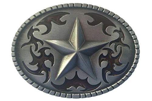 Bai You Mei Western Cowboy Lone Star belt buckles