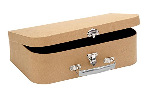 GLOREX 62027030Maleta de Viaje de cartón, 30x 17,5x 8cm, FSC Mix