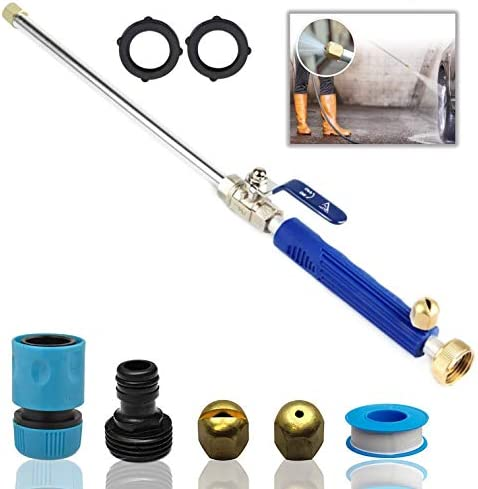 DBR Tech Hydro Jet High Pressure Power Washer Wand for Car Washing or Garden Cleaning Heavy product image