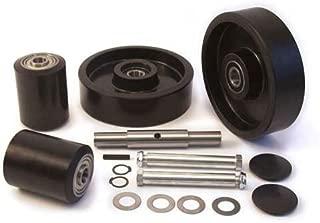 GPS Complete Wheel Kit for Manual Pallet Jack - Fits Lift Rite, Model # Titan Series