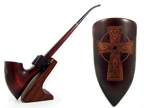 Fashion NEW Churchwarden Smoking Tobacco Pipe 13 inch/33 cm Nordic'CELTIC CROSS'. Exclusive Designed for Pipe Smokers