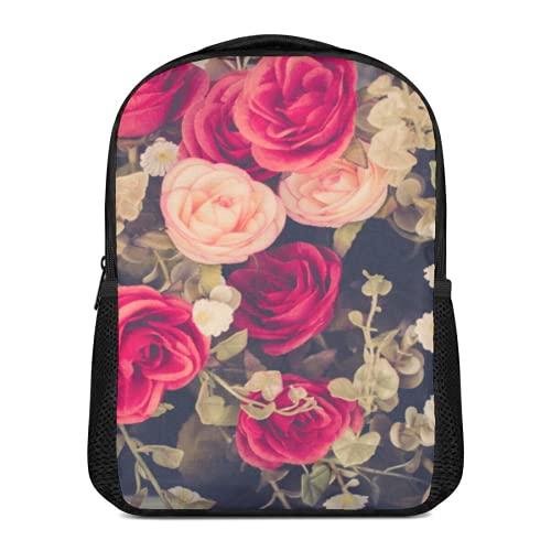 Cuadro de lienzo con ilustración floral vintage para pared de salón, sala...