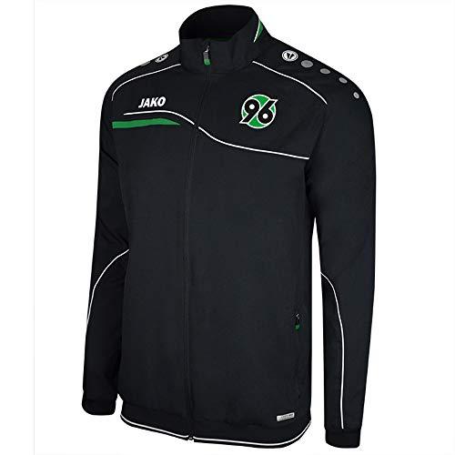 Jako Hannover 96 Einlaufjacke schwarz-grün schwarz-grün, M