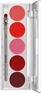 Kryolan 1215 Lip Rouge Set 5 Colors Makeup Palette PERFORMANCE