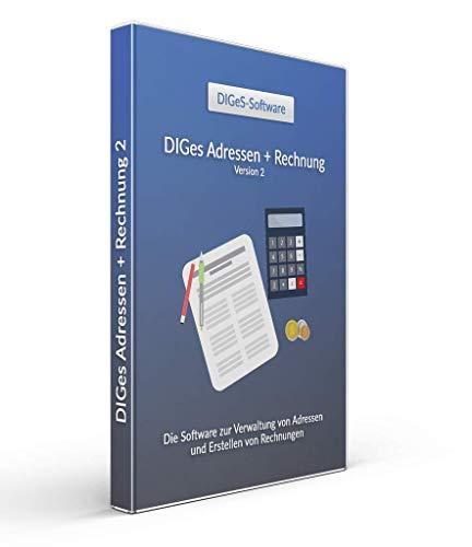 DIGeS Adressen + Rechnung 2 - Adressen Verwalten - Rechnungen schreiben
