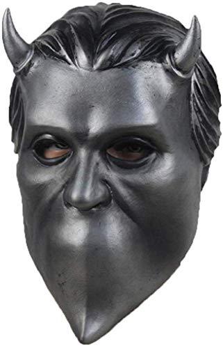 NECHARI Nameless Ghouls Mask Ghost Heavy Metal Doom Hard Rock Band...