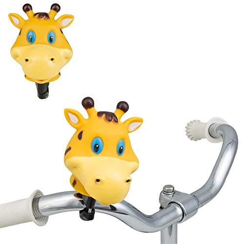 Smart-Planet® - Timbre para bicicleta, diseño de cabeza de animales, campana para...