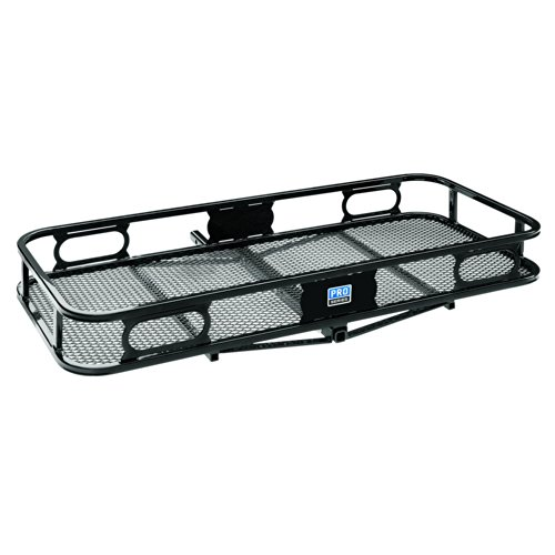 """Pro Series 63155 Rambler Hitch Cargo Carrier for 1-1/4"""" Receivers, Black"""