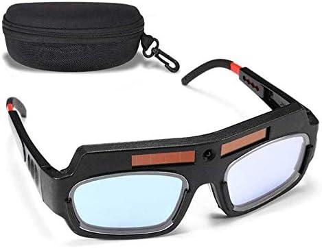 CVV Solar Auto Darkening Welding Goggles PC Lens Eyes Protected Helmet Goggles for Welder DIYer product image