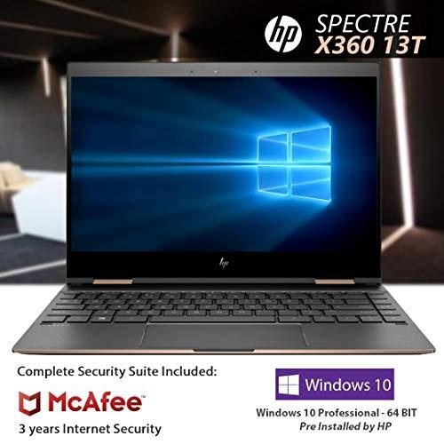 13-inch HP Spectre x360 13t Quad-core i7-8550U Touch Laptop