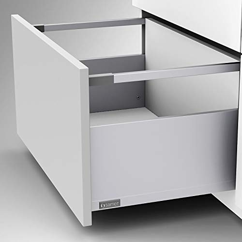 Schubkastensystem SMARTFLOW Tragkraft 40 kg Soft-Closing anthrazit Küchenauszug