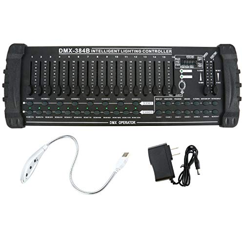 YaeCCC 384 Channel Light/Fog Intelligent Lighting Controller + MIDI Control