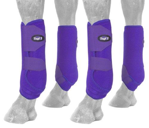 Conjunto de botas esportivas extremamente ventiladas Tough 1, Roxa, Large