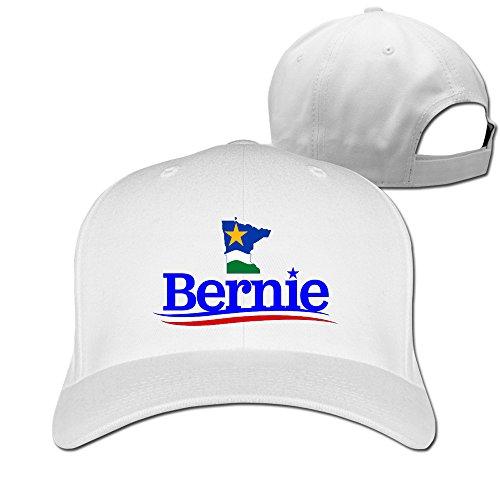 Minnesota pour Bernie Sanders Hiphop réglable Baseball Caps - Blanc - Taille Unique