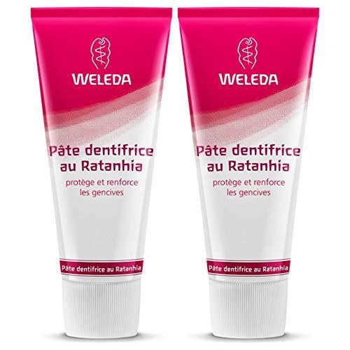 Weleda Toothpaste with Ratanhia 2x75ml