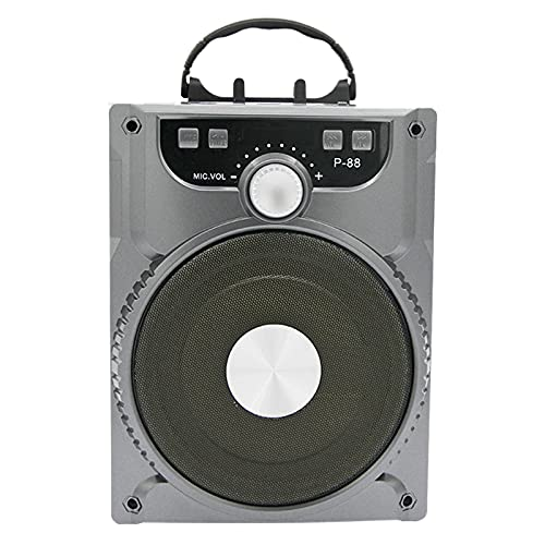 DIDILI Altavoz MicróFono de Karaoke Altavoz PortáTil de Alta Potencia Balasto de Contrabajo