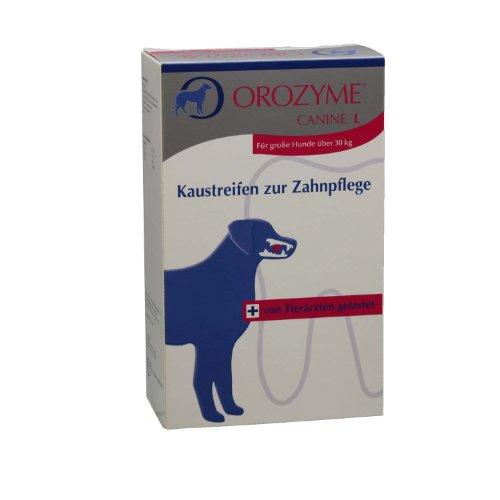 Tiras para masticar Orozyme L 141 g
