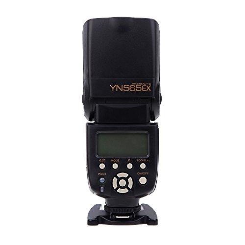 YONGNUO YN565EX TTL Multifunktions-Flash-Speedlite i-TTL-Fernbedienung GN 58 Kompatibel mit Nikon D90 D7000 D5100 D3100 D700