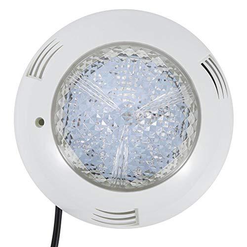 Luz subacuática LED de 15W, lámpara de pared subacuática, luz de piscina IP68 impermeable AC 12V, para iluminación de piscinas, fuentes, jardines, cuadrados(RGB)