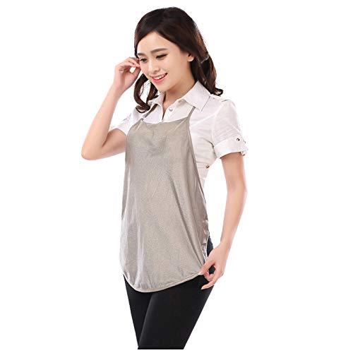 DUAN Anti-Strahlen-Kleidung Strahlenschutz-Bauchband 100% Silberfaser-Strahlenschutzanzug Mutterschaft für Schwangerschaft & Mutterschaft