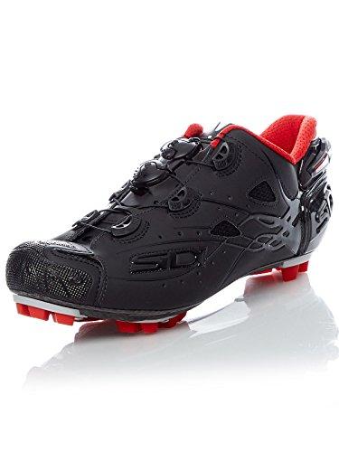 Sidi Drako Carbon SRS Lucido Zapatos MTB Hombre - Black / Black - 42