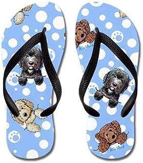 Pocket Doods Flip Flops for Kids Adult Beach Sandals Pool Shoes Party Slippers Black Pink Blue Belt for Chosen