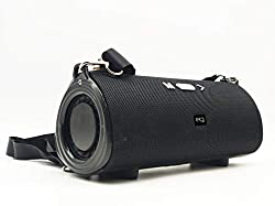 Egate Concord C510 Strap Mini Boom Box Bluetooth Speaker with Bass Radiators