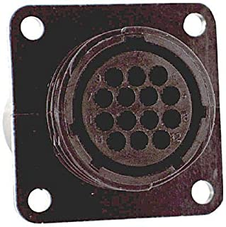 206306-1 - Circular Connector, CPC Series 1, Panel Mount Receptacle, 37 Contacts, Thermoplastic Body, (Pack of 5) (206306-1)