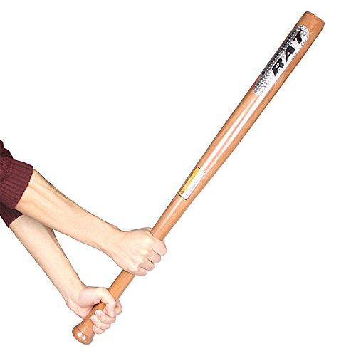 Bate de béisbol de madera de Finoki, autodefensa, 74 cm
