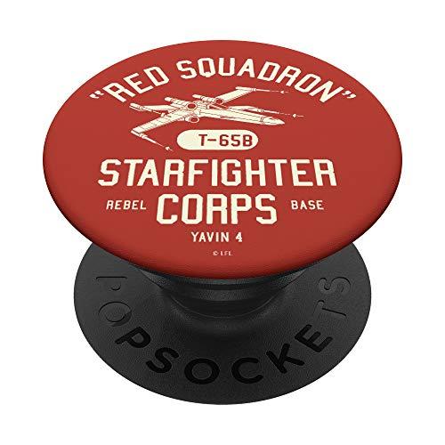 Star Wars Rebel X-Wing Starfighter Corps Collegiate PopSockets PopGrip: Agarre intercambiable para Teléfonos y Tabletas