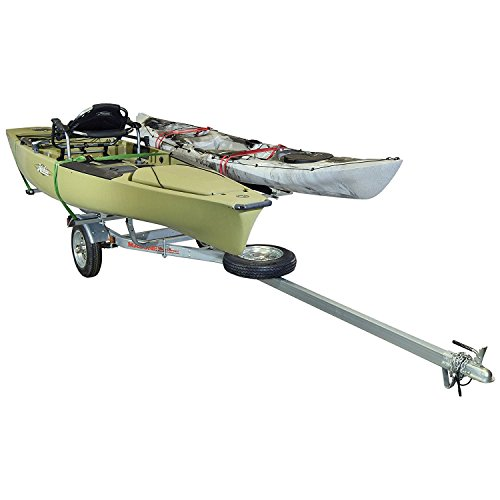 Learn More About Malone MicroSport 2 Kayak Bunk-Style Trailer Package