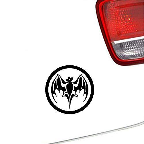 Auto Aufkleber Bacardi Rum Vampire Bat Kajak Fenster Autoscooter Dekorative Abziehbilder 13,5x13,5 Cm Für Auto Laptop Fenster Aufkleber