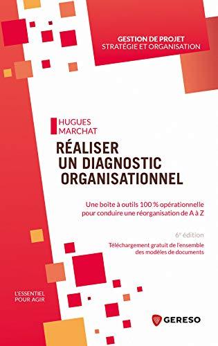 Réaliser un diagnostic organisationnel: Une boite à outils 100% opérationnelle pour conduire une réorganisation de a à z (L'essentiel pour agir) (French Edition)