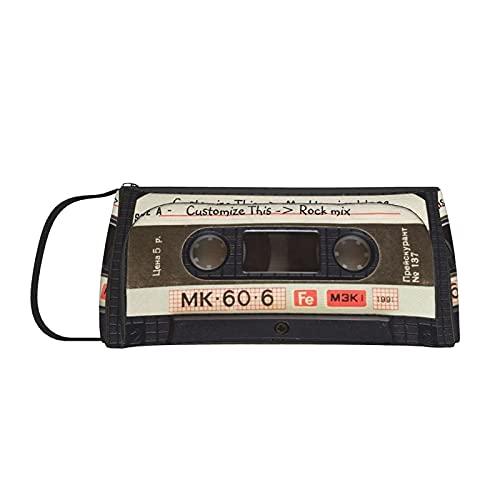 Retro Liefde Muziek Cassette Mixtape Potlood Case Multifunctionele Draagbare Grote Capaciteit Pen Pouch Meisje Jongens…