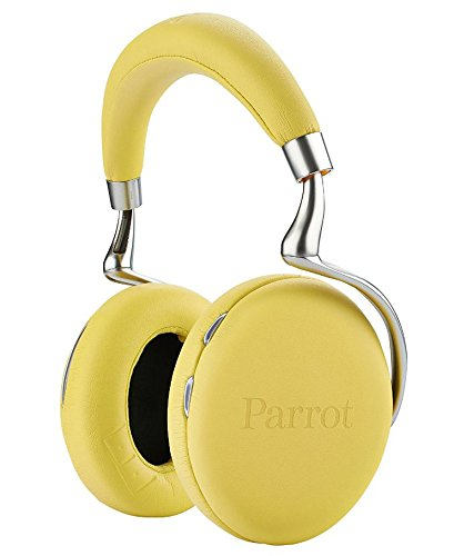 Parrot ZIK 2.0 by Philippe Starck Bluetooth on-Ear-Kopfhörer gelb