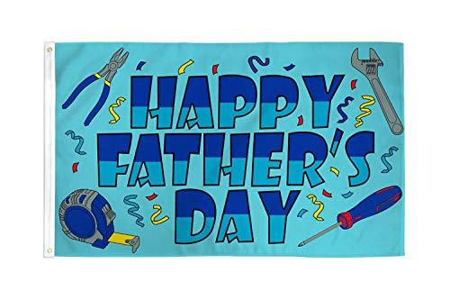 AZ FLAG Bandera Feliz DÍA del Padre 90x60cm - Bandera Dia DE LOS Padres - Happy Father's Day 60 x 90 cm