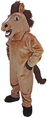 Friendly Horse Mascot Costume from Mask US
