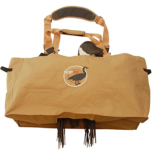 DecoyPro Silhouette Decoy Bags - Padded & Adjustable Shoulder Strap – Silhouette Goose Decoy Bags Protects Goose Decoys